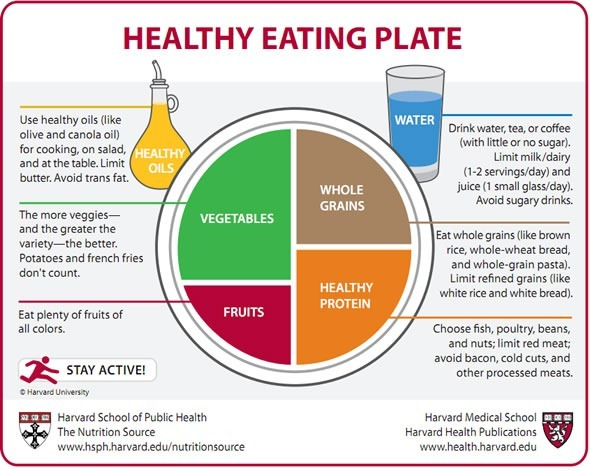 Harvard Healthy Easting Plate