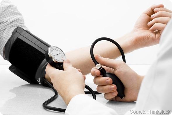 Scatto di misurazione dello studio di Pressione sanguigna