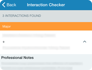 Interaction Checker PDR