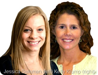 Jessica Suisman and Kelly Klump BIG IMAGE