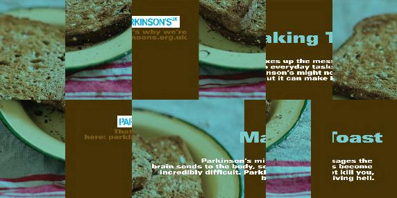 Parkinson's toast