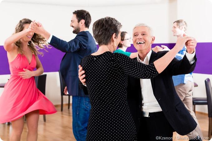 Classe de dança do sócio