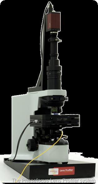 Phasefocus Lens Profiler