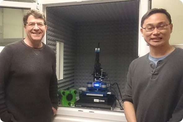 Professor Phillip Messersmith and Dr Yang Wei
