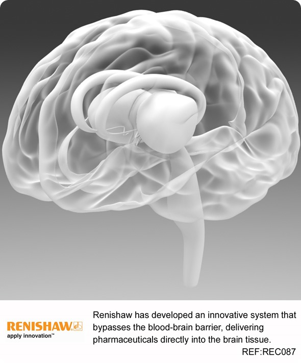 Renishaw drug delivery