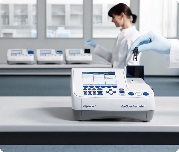 Range of Eppendorf Spectrometers/Spectrophotometers