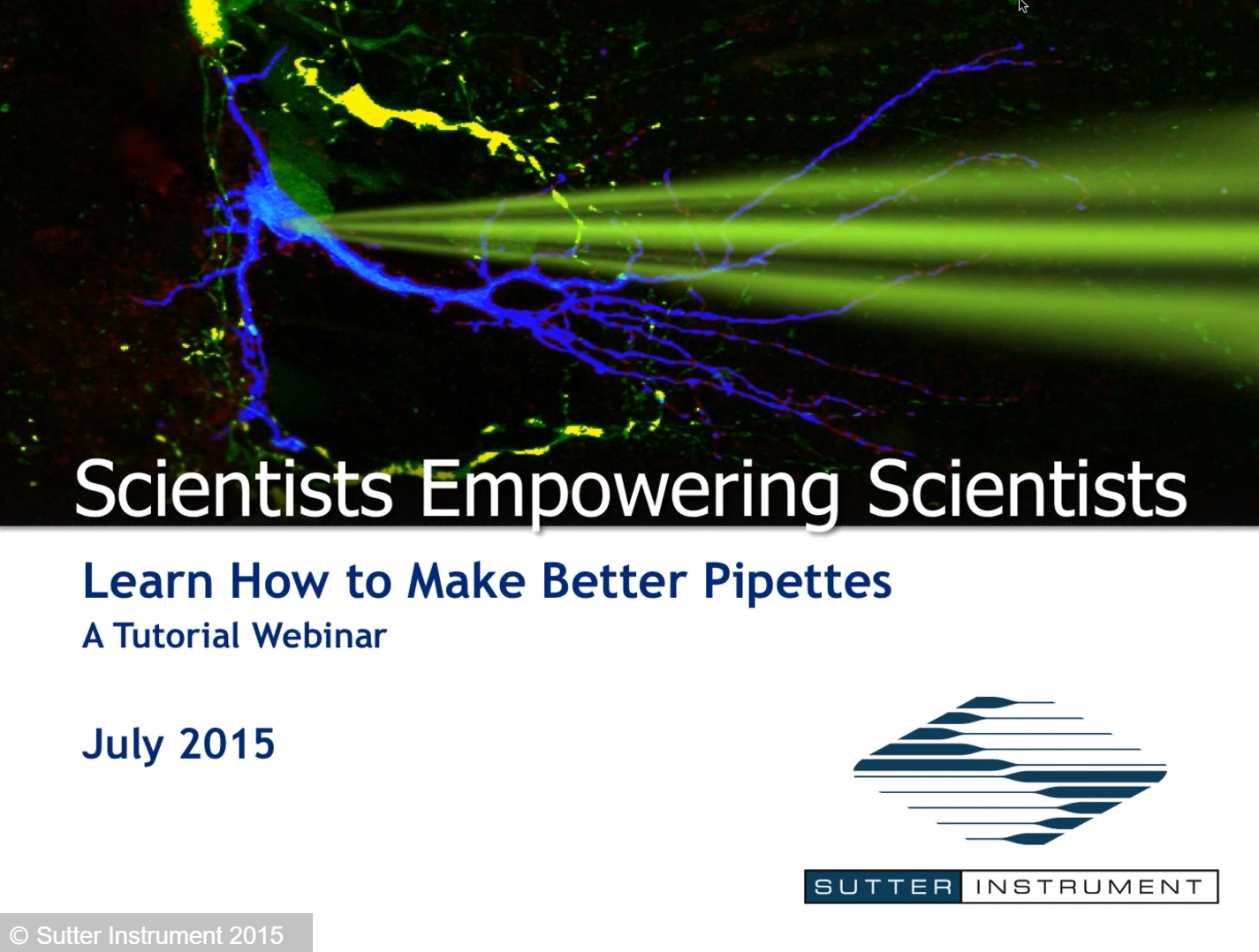 How To Make Better Pipettes - Scientists Empowering Scientists